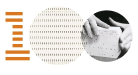 The ibm punched card
